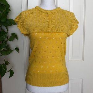 Sweaters - Yellow Sweater